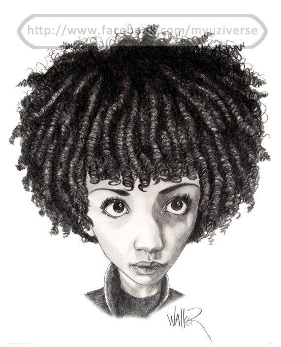 Astrid | Caricatures by M.L. Walker | Myuzing