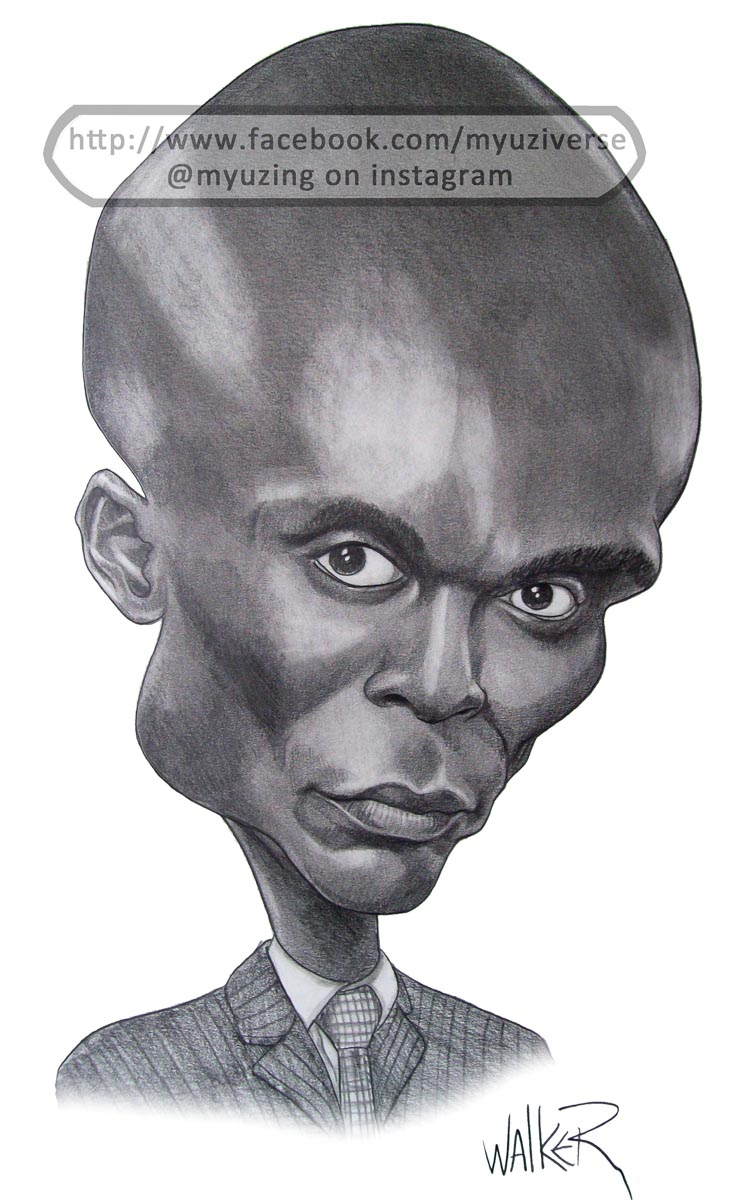 Broyles | Caricatures by M.L. Walker | Myuzing