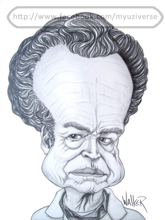 Walter | Caricatures by M.L. Walker | Myuzing