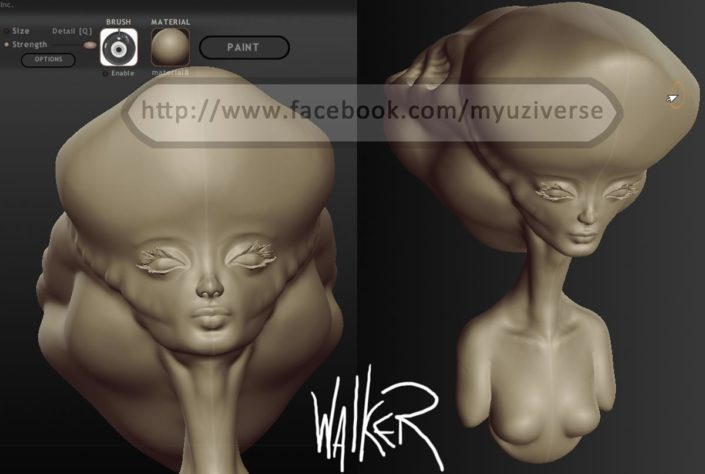 3d 2.1 | 3D Model by M.L. Walker | Myuzing