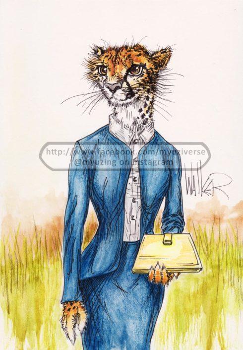 Cheetah | Animals by M.L. Walker | Myuzing