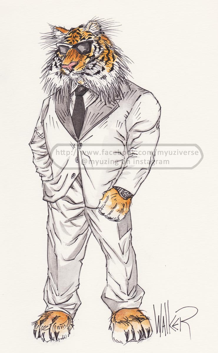 TigerGuy | Animals by M.L. Walker | Myuzing