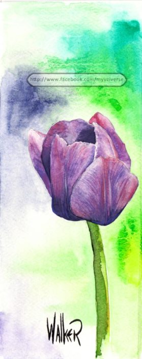 Tulip | Art by M.L. Walker | Myuzing