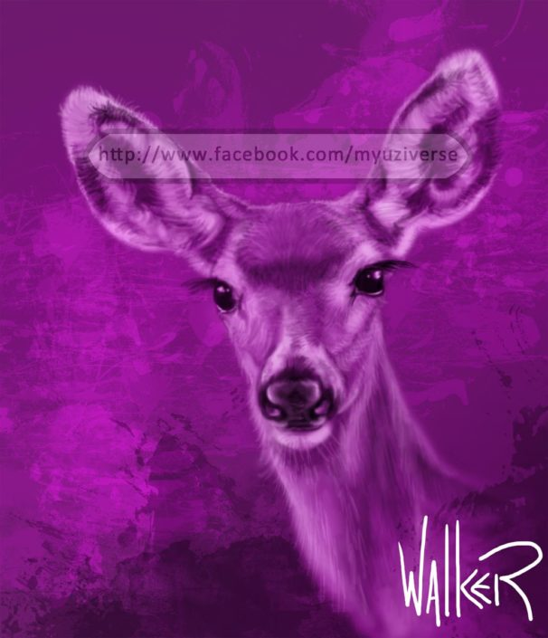 Violet | Animals by M.L. Walker | Myuzing