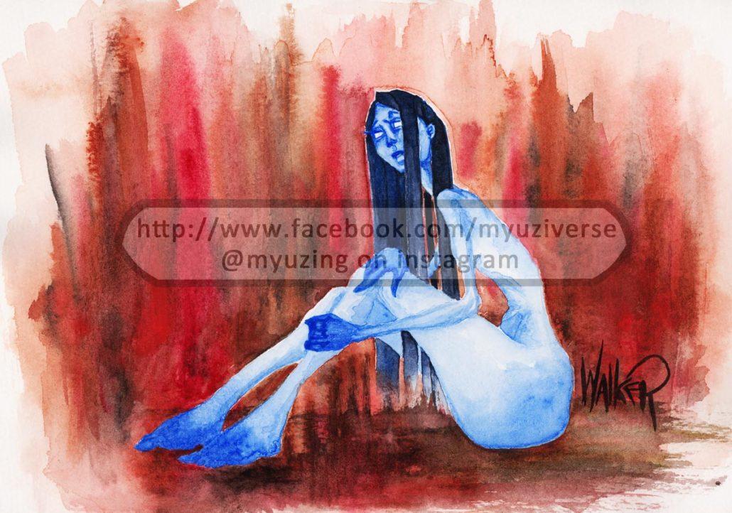 Woman 2 | Art by M.L. Walker | Myuzing