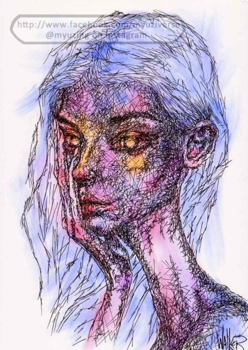 Blue Girl | Other Stuff by M.L. Walker | Myuzing