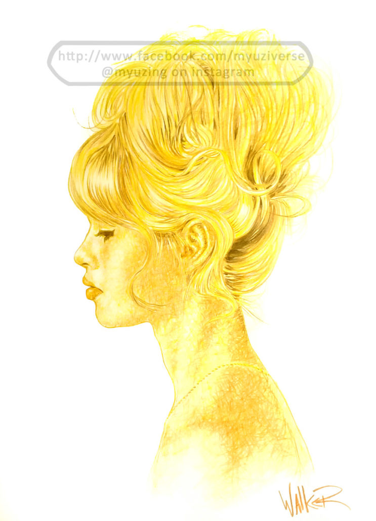 Brigitte Bardot | Portraits by M.L. Walker | Myuzing