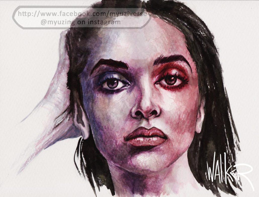 Deepika 1 | Portraits by M.L. Walker | Myuzing