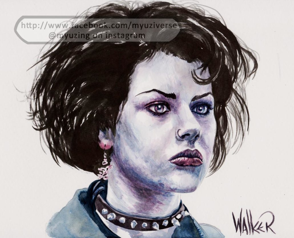 Fairuza | Portraits by M.L. Walker | Myuzing