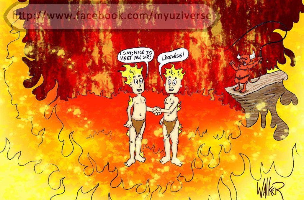 Hell | Wordplay Puns by M.L. Walker | Myuzing
