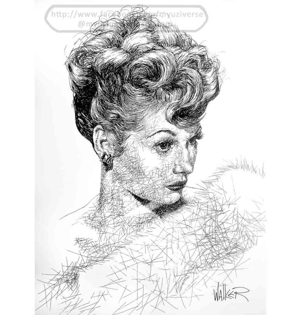 Lucille | Portraits by M.L. Walker | Myuzing