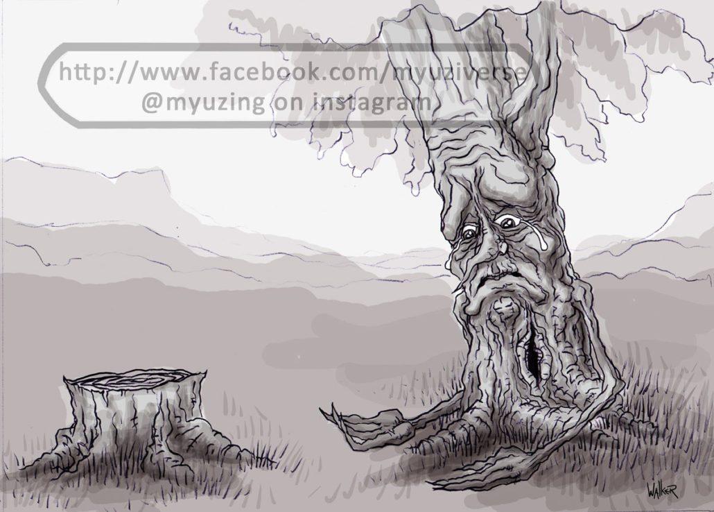 Tree | Wordplay Puns by M.L. Walker | Myuzing