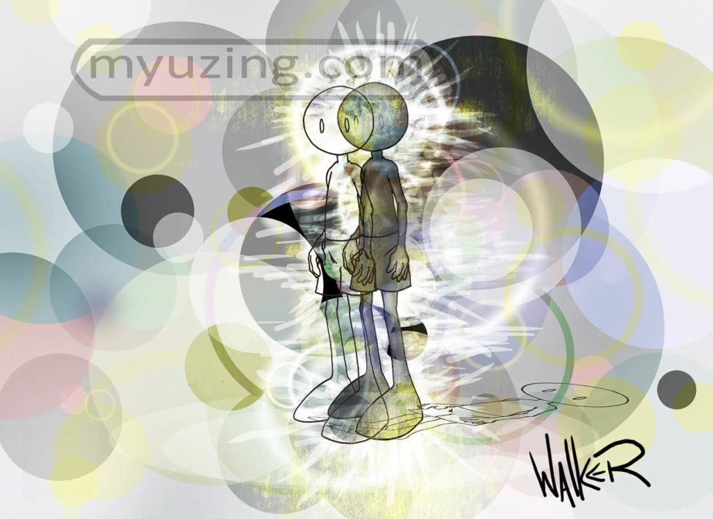 Abstract | My Guy by M.L. Walker | Myuzing