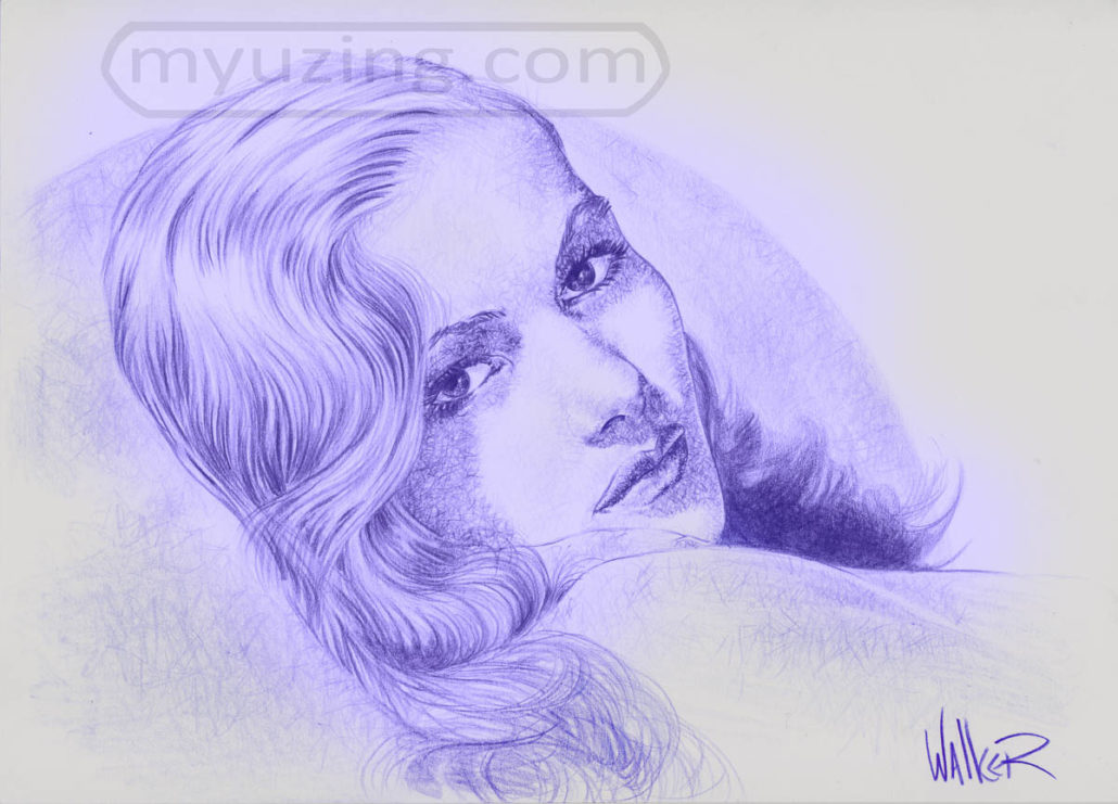 Veronica Lake | Portraits by M.L. Walker | Myuzing