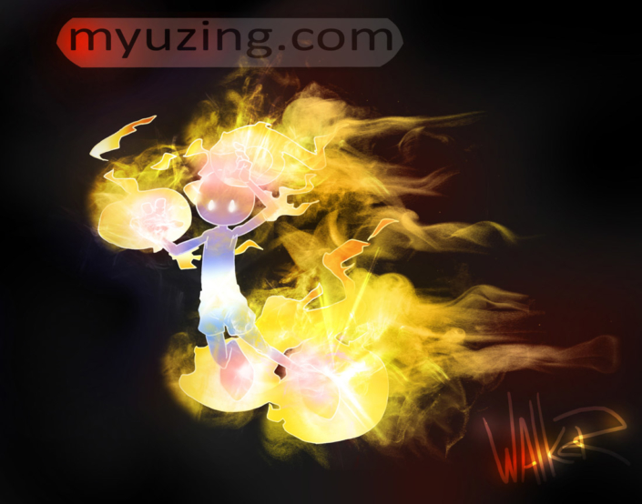 Fire Guy 2 | My Guy Cartoon | M.L. Walker | Myuzing.com