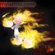 Fire Guy 2 | My Guy Cartoon | M.L. Walker | Myuzing.com