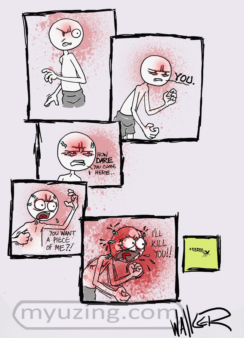 Guest | My Guy Cartoon | M.L. Walker | Myuzing.com